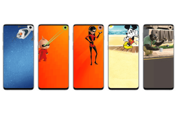 Download: speciale wallpapers van Disney en Pixar voor je Samsung Galaxy S10