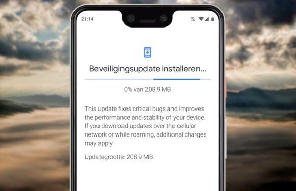 Deze Android-smartphones kregen een (beveiligings)update – week 27
