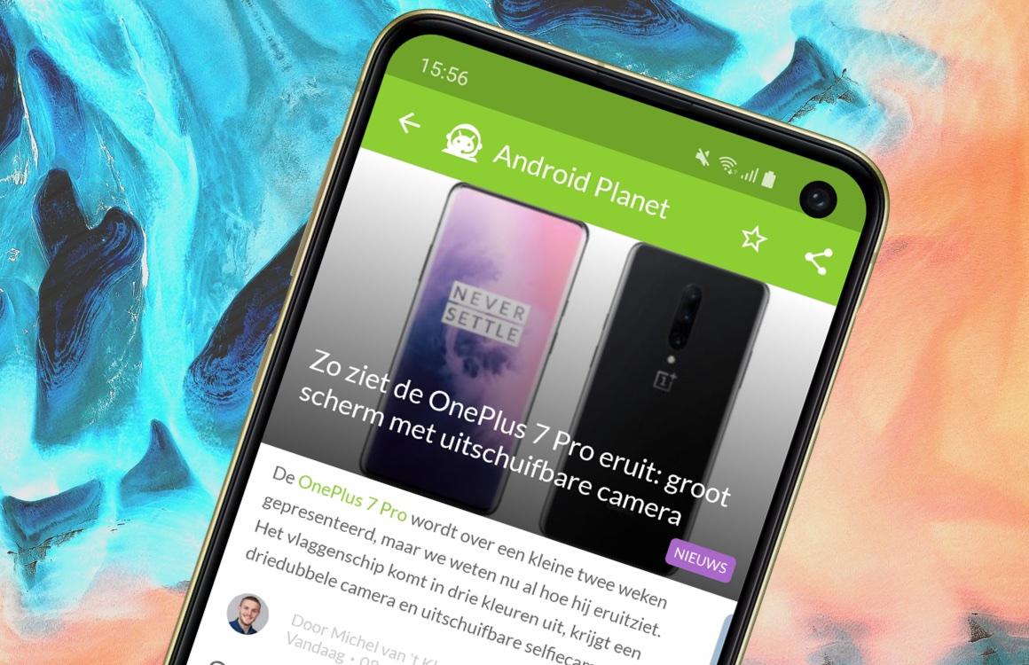Android nieuws #18: OnePlus 7 Pro-render, Google Pixel 3a gelekt en meer