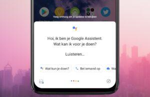 google assistent thuisbezorgd