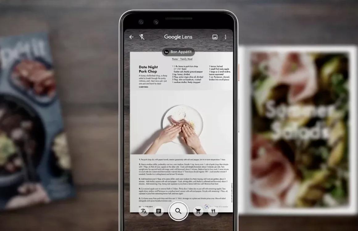 Google Lens menukaarten