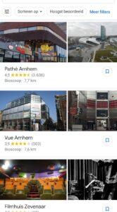 google maps bioscoop