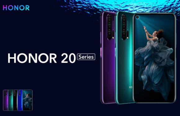 Huawei-submerk introduceert Honor 20 en 20 Pro met verbeterde camera's
