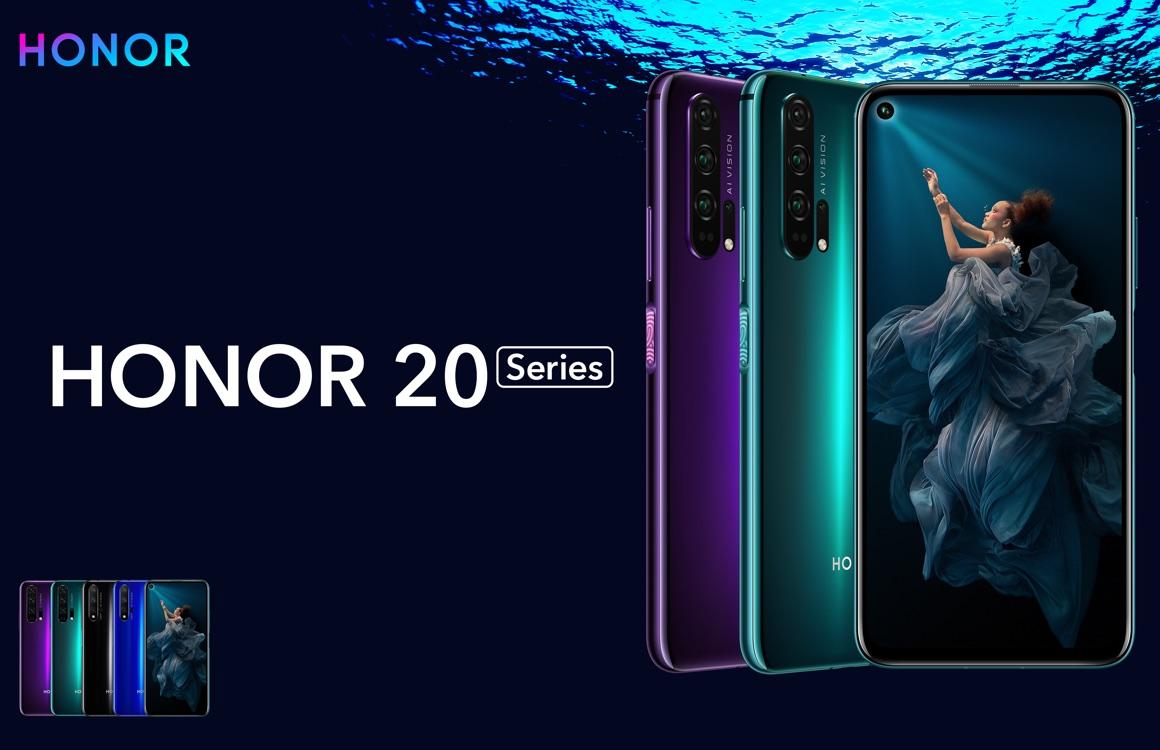 Honor 20 binnenkort te koop in Nederland, 20 Pro release nog onzeker