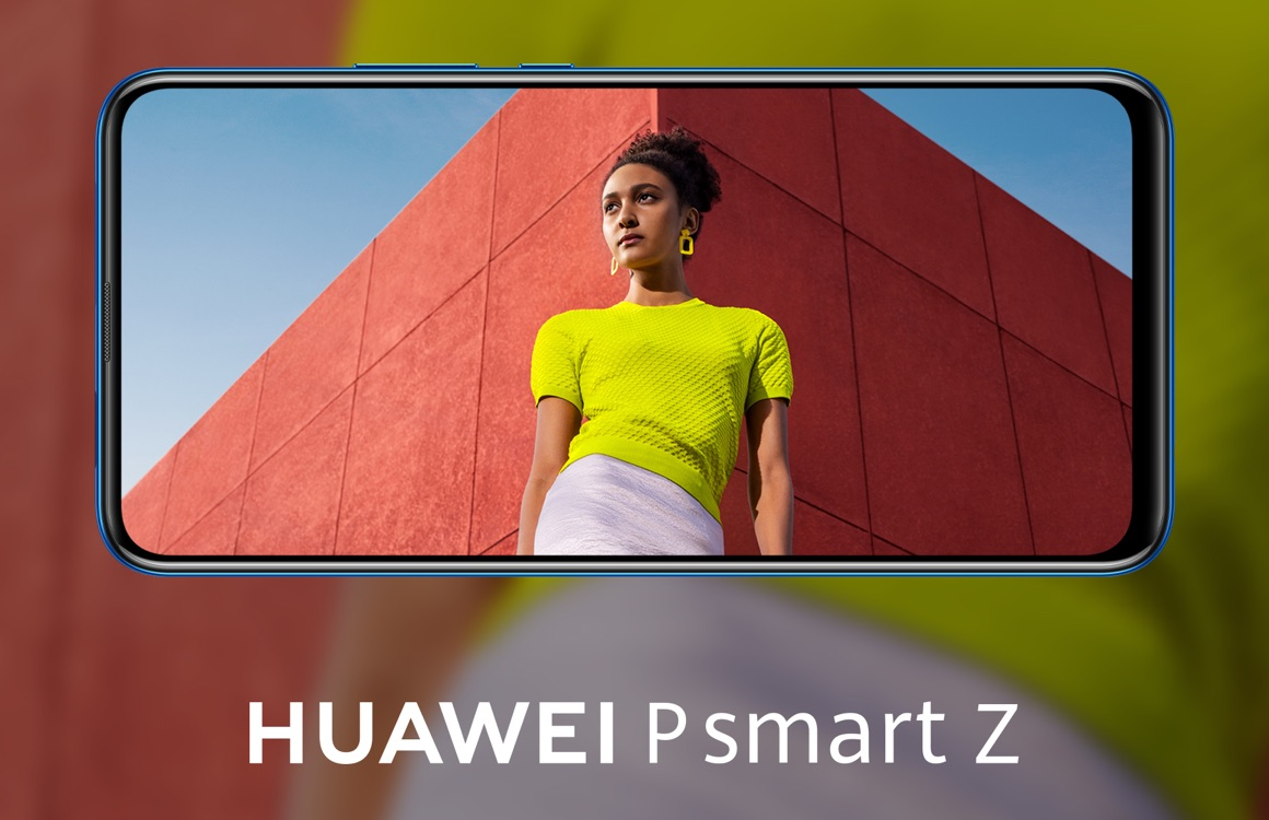 Huawei brengt P Smart Z 2019 met uitschuifbare selfiecamera naar Nederland