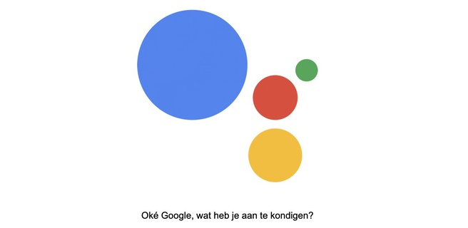 Belgische Google Assistent