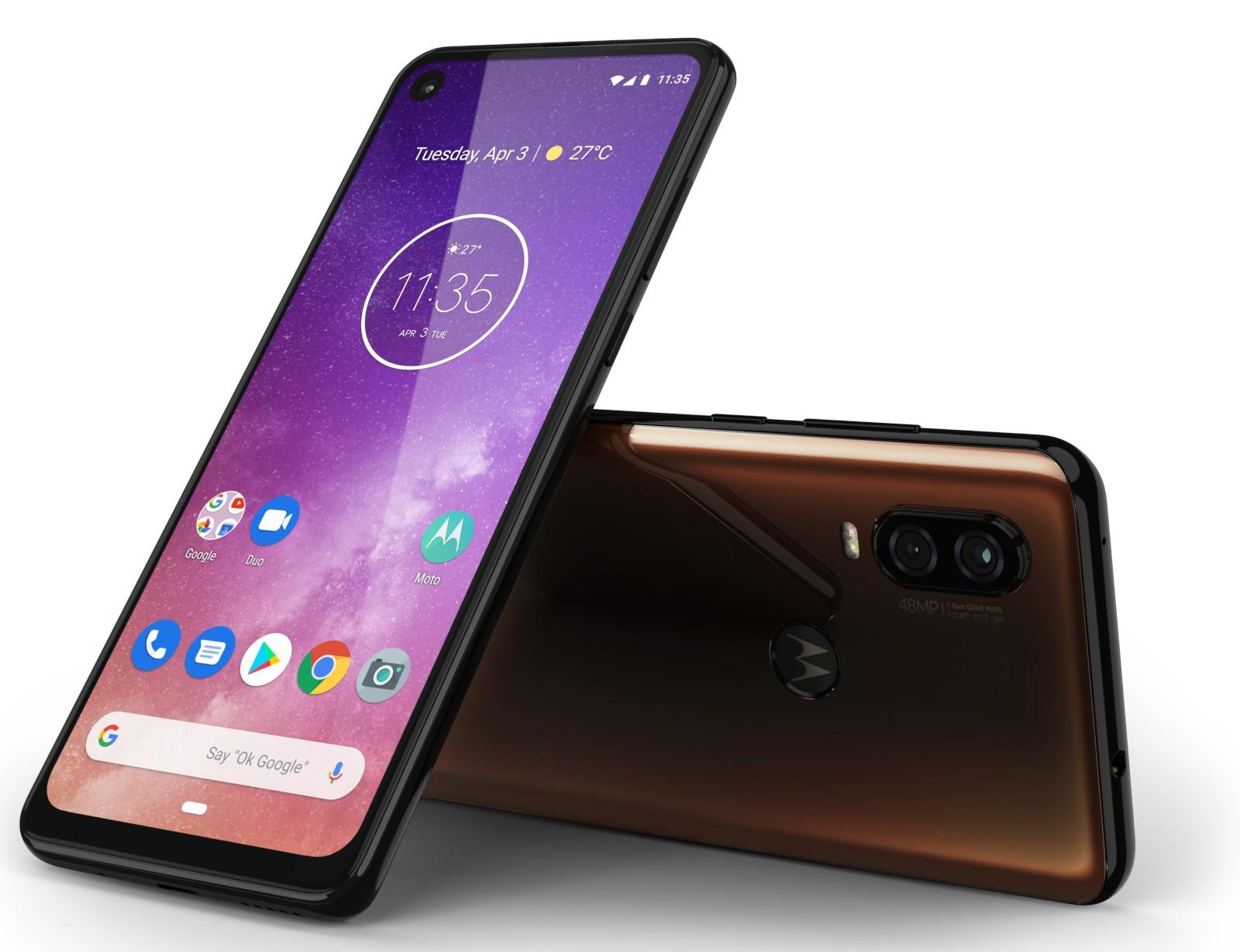 Motorola One Vision officieel