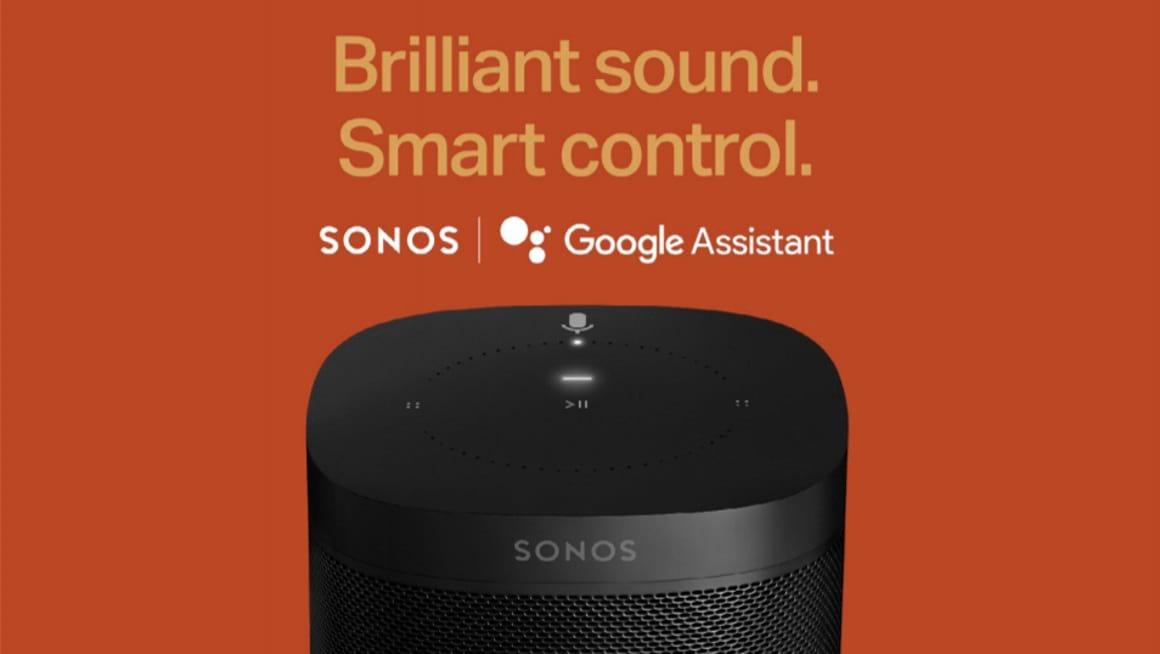 Google Assistent op Sonos aankondiging