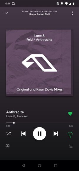 spotify slaapstand
