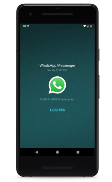 Whatsapp update na spyware