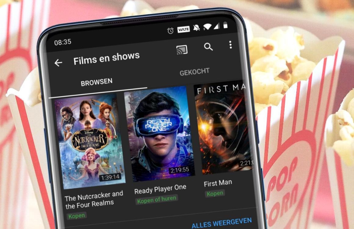 YouTube Films huren en bekijken: zo werkt het op Android