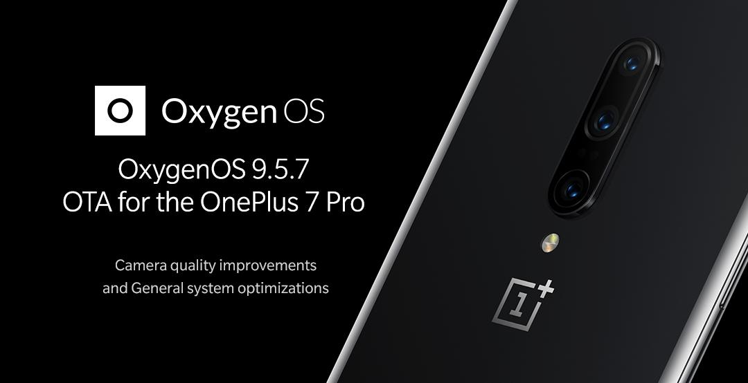 OnePlus 7 Pro update naar OxygenOS 9.5.7