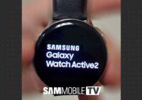 'Dit is de Galaxy Watch Active 2: smartwatch voor sporters'