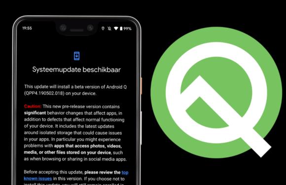 Google brengt zesde Android Q-bèta uit: dit zijn de laatste verbeteringen