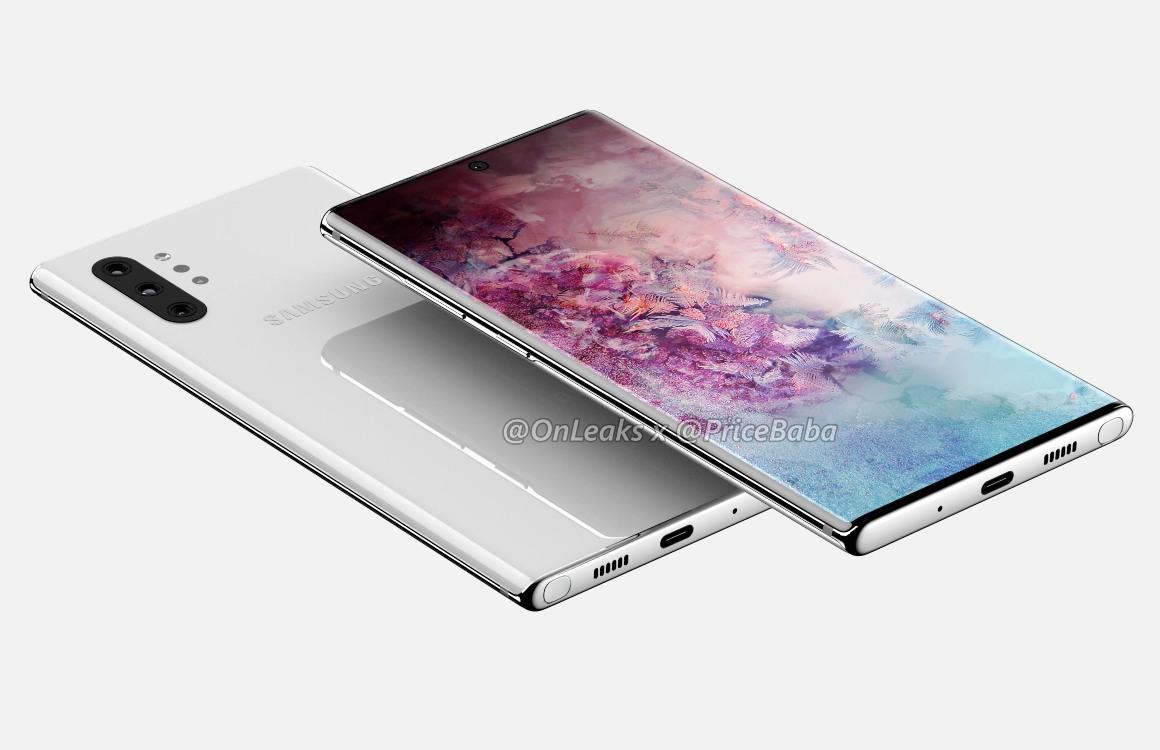 'Dit is de Samsung Galaxy Note 10 Pro, met vier camera's achterop'