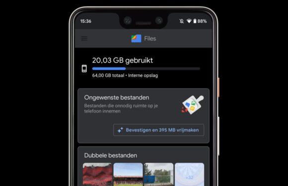 Ook Google Files krijgt donkere modus: check de screenshots