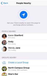 Telegram contacten toevoegen