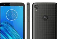 'Motorola Moto E6-render toont nieuw toestel in budgetreeks'