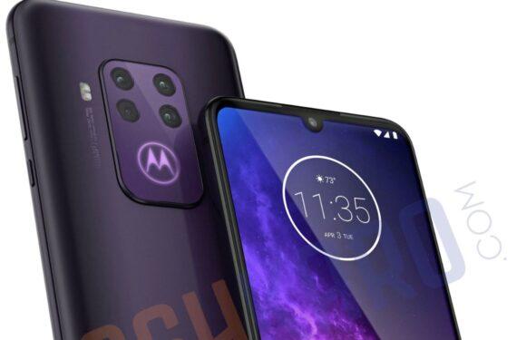 'Motorola One Pro-renders tonen vierdubbele camera en notch'