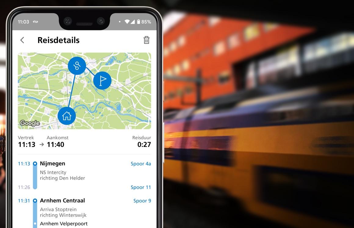 Met de NS Lab-app reis je in de toekomst als proefkonijn