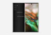 Renders: 'Samsung Galaxy Note 10 heeft geen koptelefoonaansluiting'