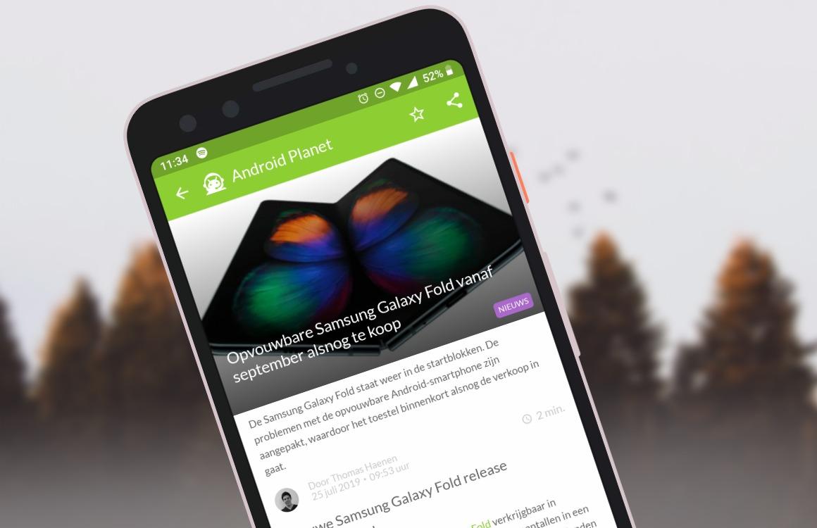 Android-nieuws #30: Samsung Galaxy Fold-release en nieuwe Google Home-functie
