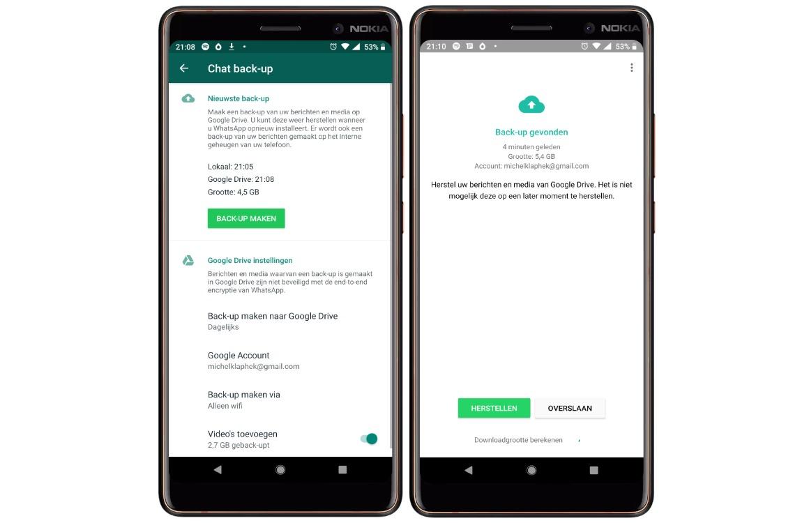 Verwijderde WhatsApp Berichten terughalen