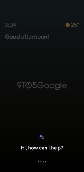 Google Assistent Ambient Mode