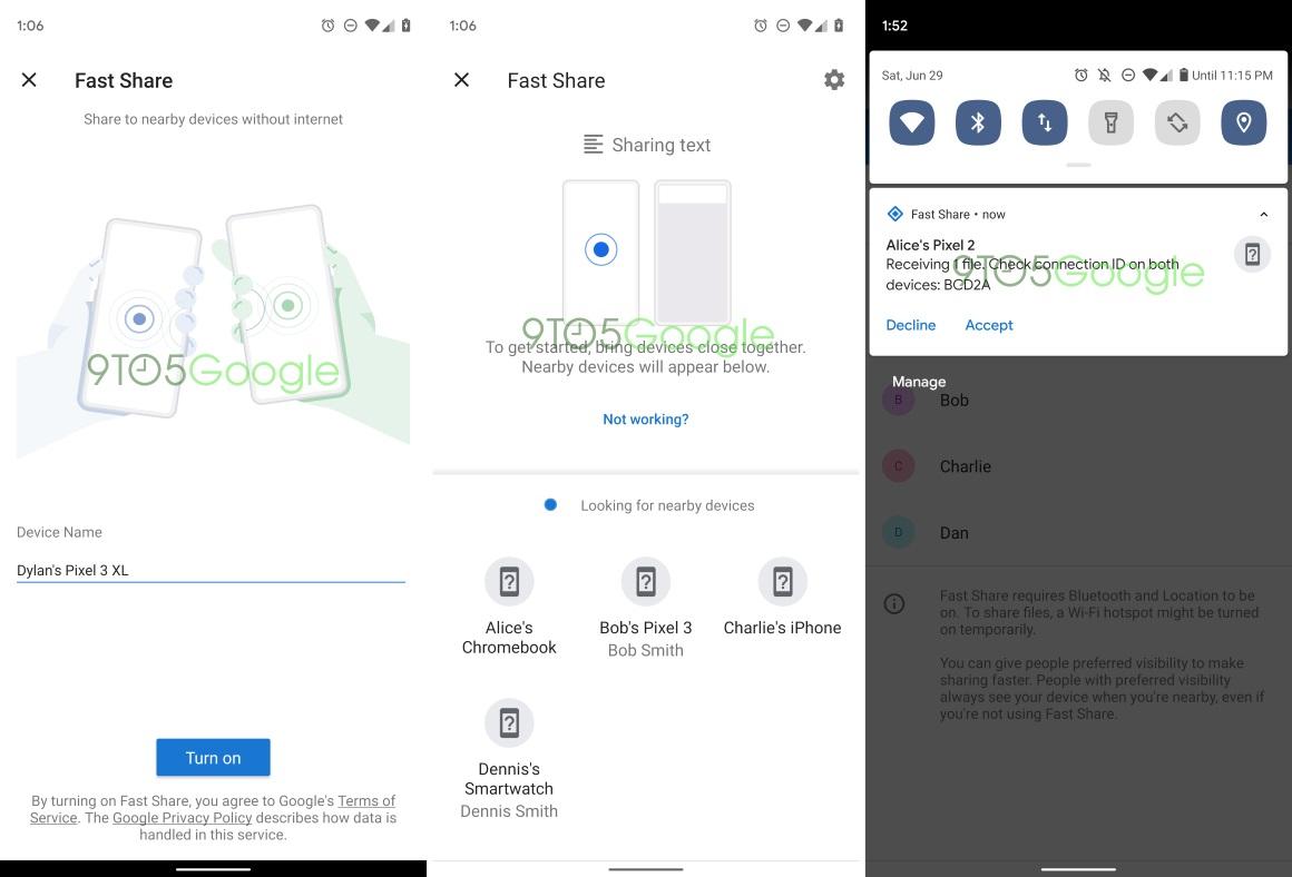 File Share bestanden delen op Android