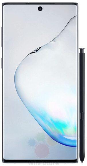 Samsung Galaxy Note 10 foto's