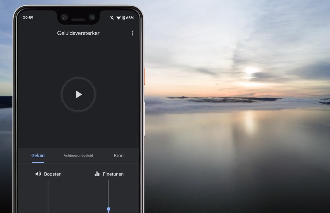 Google Geluidsversterker-app maakt Android beter voor slechthorenden