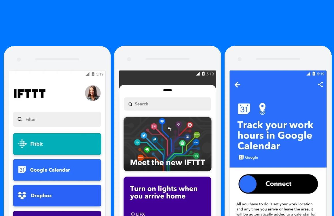 IFTTT-app voor Android krijgt nieuw uiterlijk in grote update