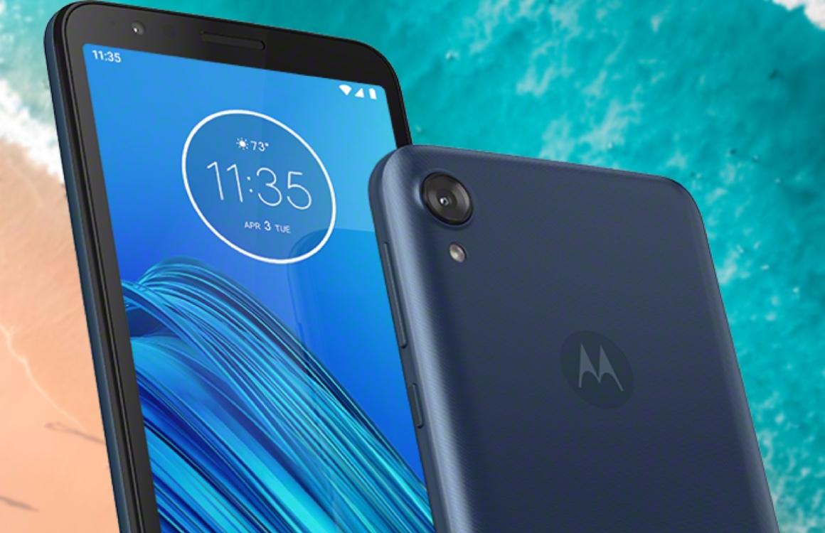 Motorola Moto E6 onthuld: kleine upgrade voor instapmodel