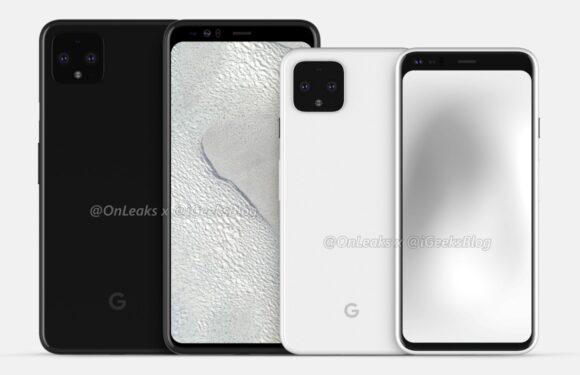 'Google Pixel 4 lijkt op XL-variant, heeft grotere schermranden'