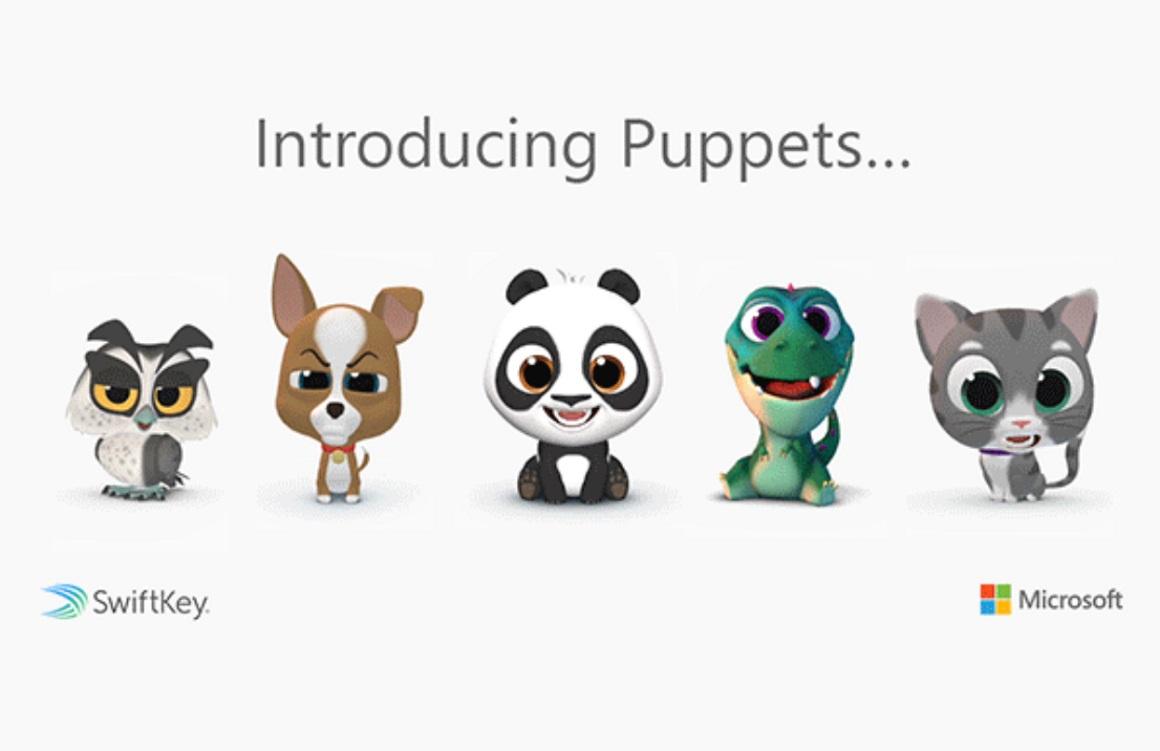 SwiftKey introduceert Puppets, een eigen variant op animoji