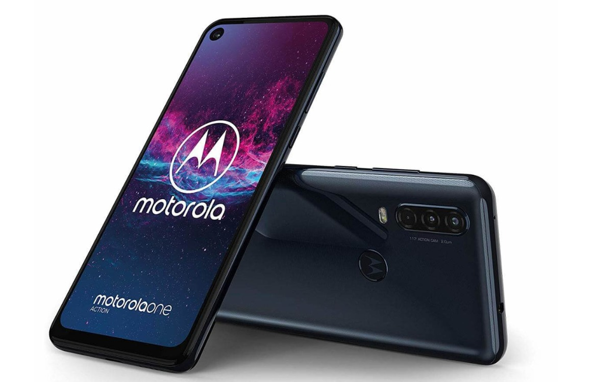 'Dit is de Motorola One Action met stock-Android en driedubbele camera'