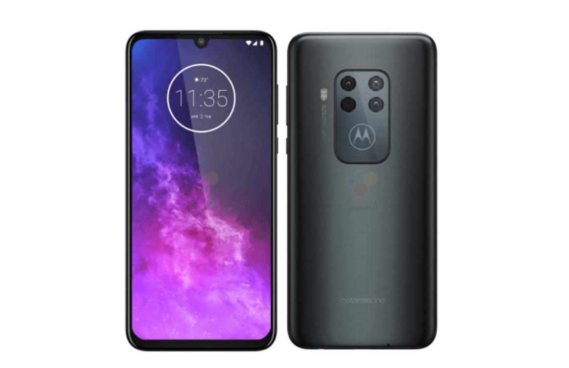 Motorola One Zoom renders achterkant