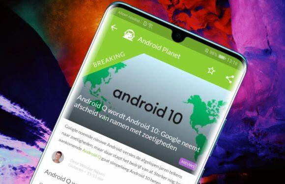 Android nieuws #34: Android 10, Huawei krijgt extra tijd en Google Nest Mini