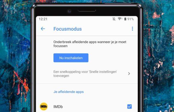 Digitaal Welzijn-bèta krijgt handige Focus-modus: zo werkt het