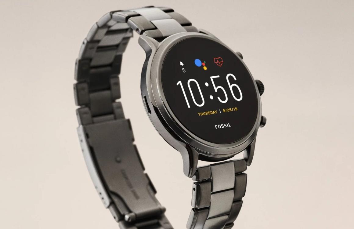 Fossil introduceert Gen 5-smartwatch met Wear OS en speaker
