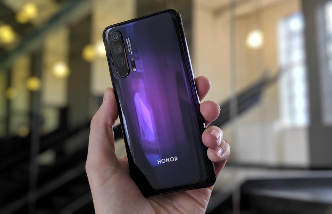 Honor 20 Pro review: vlotte smartphone met prima camera komt te laat