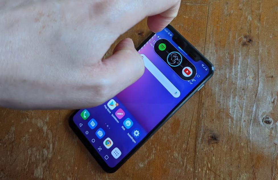 LG G8s ThinQ air motion