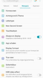 LG G8s ThinQ screenshot