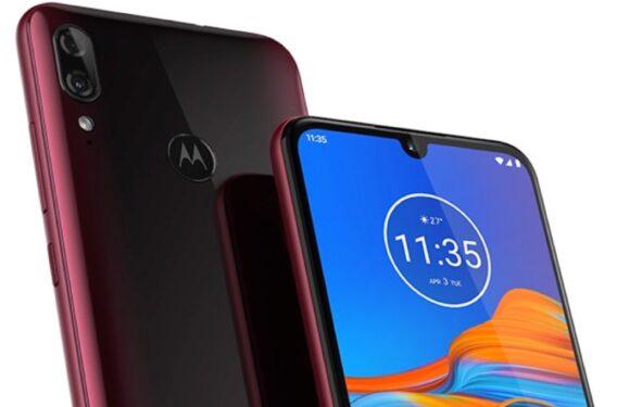 'Dit is de Motorola Moto E6 Plus, met kleine notch en dubbele camera'