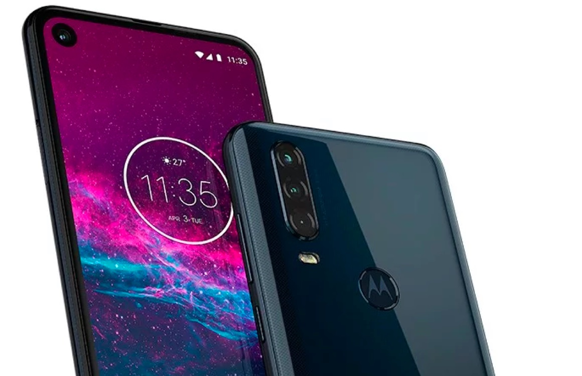 Motorola One Action officieel: Android One-smartphone met 'actiecamera'
