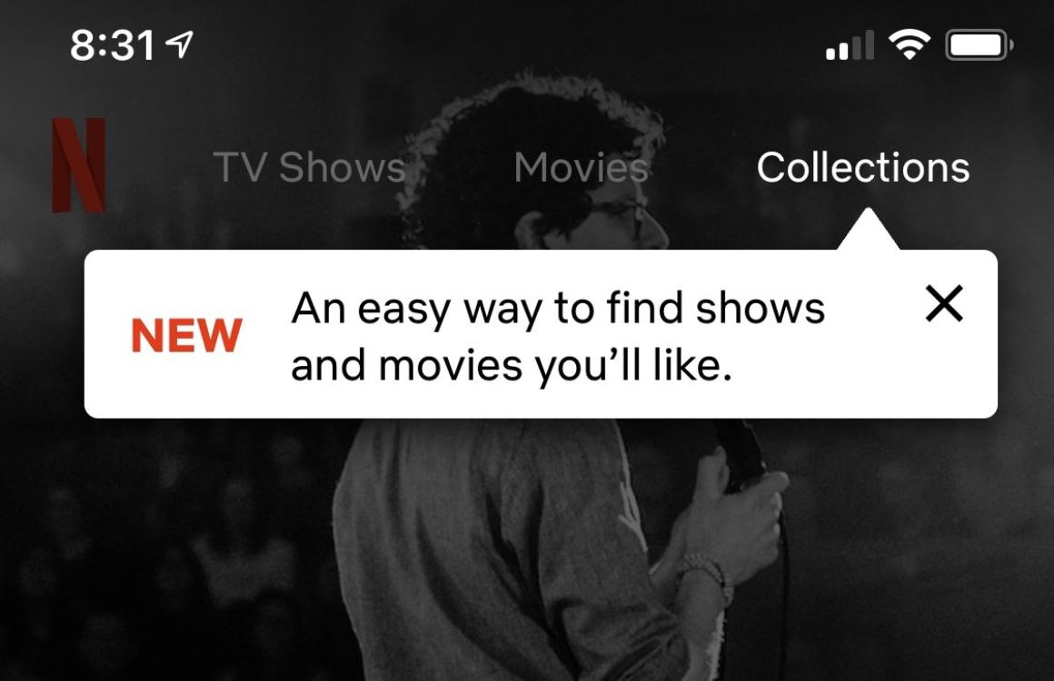 Netflix test 'Collecties': film- en serietips van andere mensen volgen