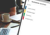 Dit zijn de 4 beste notitie-apps voor scholieren en studenten