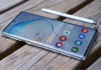 Samsung brengt eerste Galaxy Note 10 (Plus)-update voor release uit