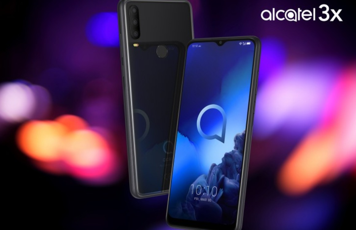Alcatel 3X officieel