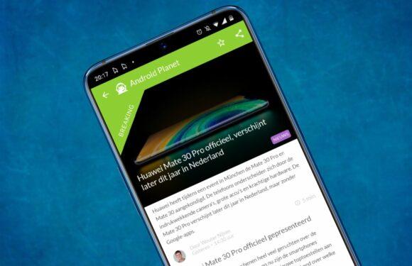 Android nieuws #38: Huawei Mate 30 Pro officieel en Google Pixel 4-presentatie